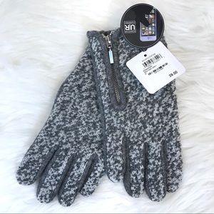 Zipper Boucle Tech Glove Heather Grey M